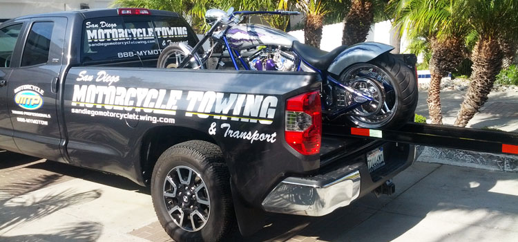 Motorcycle Towing in San Diego